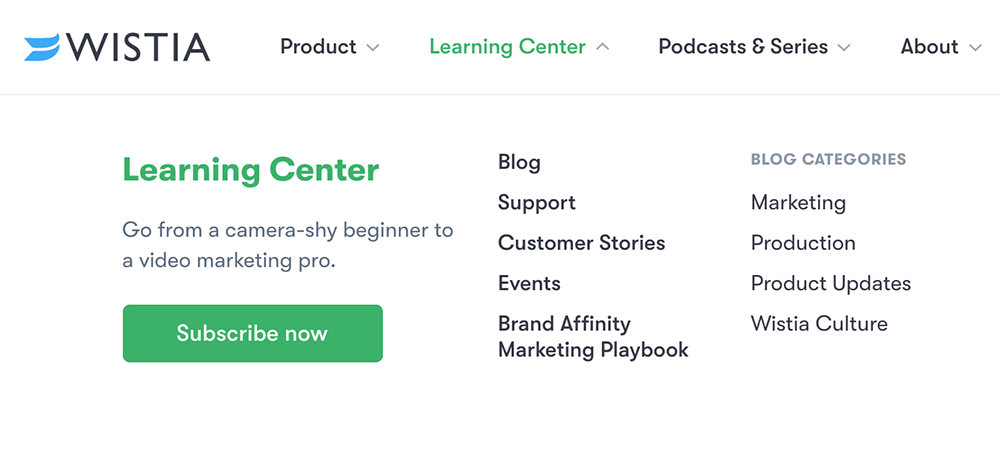 Smart Content Marketing Campaigns: Vlogging/Blogging by Wistia
