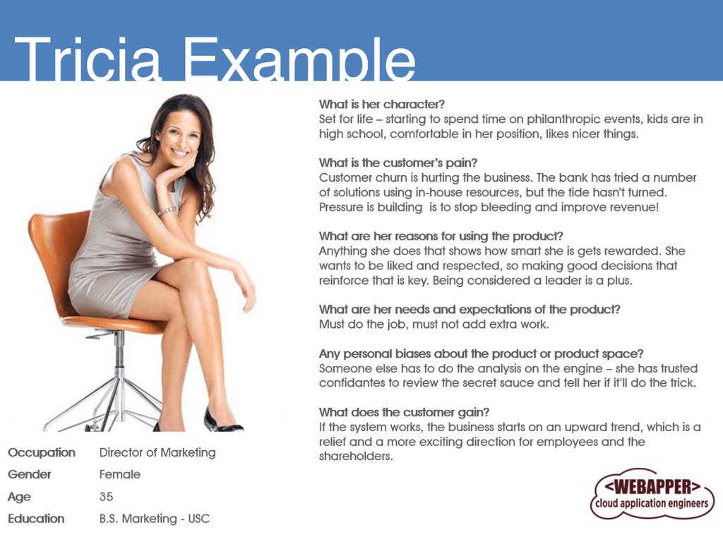 Webapper Digital Marketing: Personas